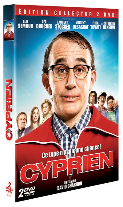 CYPRIEN: Le retour du GEEK le 25 août en DVD et Blu-ray