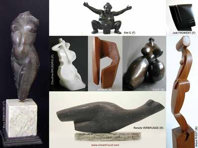 Exposition collective de sculptures