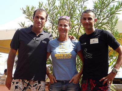 Christophe Pinna, Nathalie Simon, Stéphane Mifsud. Photo (c) Marina Péré
