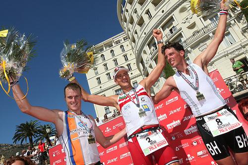 Monaco Ironman 70.3, c'est parti!