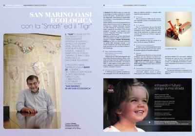 SMATI srl ed il 'TIGR' per San Marino Oasi Ecologica