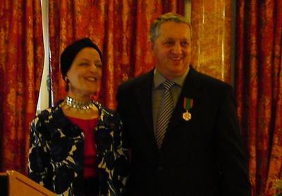 Joël Garault, Chevalier dans l'Ordre du Mérite Agricole