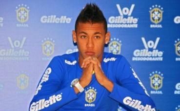 L'attaquant brésilien Neymar. Photo (c) Sergio Savarese