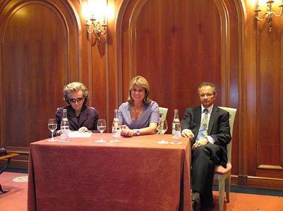 Mme Bernadette Chirac, Mme Catherine Pastor, Prof. Alain Pesce. Photo (c) Eva Esztergar / CAP 3D