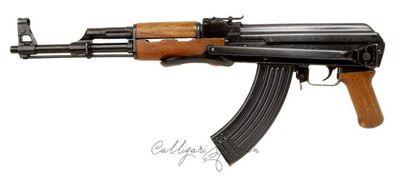 Arme à feu contre cent dollars.