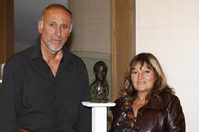 Didier Duret et Marile. Photo (c) Claudia Albuquerque
