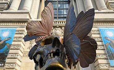 Vanité sculpture, Philippe Pasqua Photo (c) Charlotte Service-Longépé