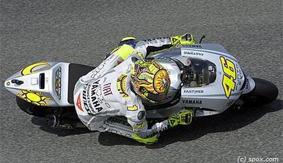 Valentino Rossi maître des qualifs à Sepang