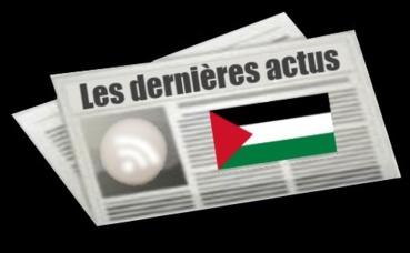 Les dernières actus de Palestine