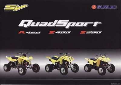 DOSSIER: Des centaines de quads SV (Suzuki Valenti) non conformes ?