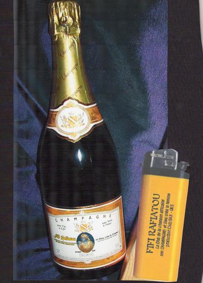 Fifi Rafiatou sort son Champagne