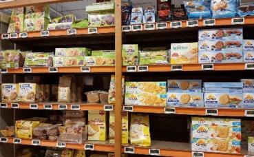 De plus en plus de choix au rayon diététique. Photo prise par l'auteur.