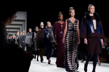 Un défilé lors de la Fashion Week. Photo (c) Christopher Macsurak