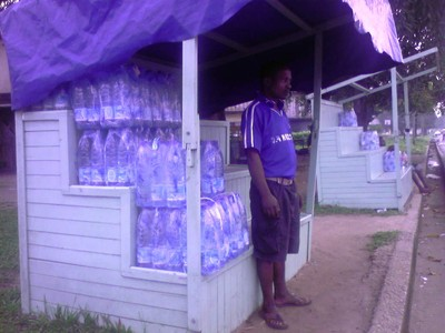 PROFESSION : Vendeur d'eau
