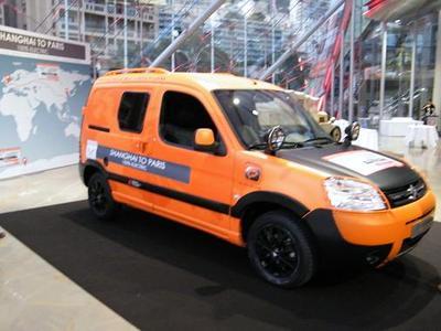 Le Berlingo 100% électrique né de la collaboration de Citroën et de Venturi. Photo (c) Eva Esztergar / CAP 3D