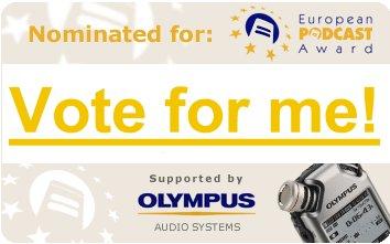 EUROPEAN PODCAST AWARDS 2010