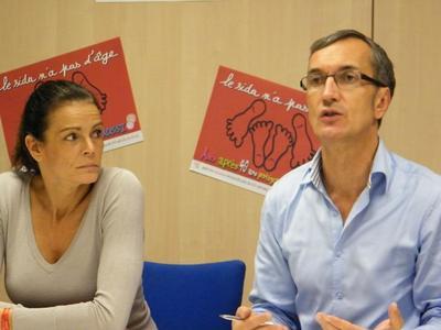 La Princesse Stéphanie de Monaco et Hervé Aeschbach. Photo (c) Eva Esztergar / CAP 3D