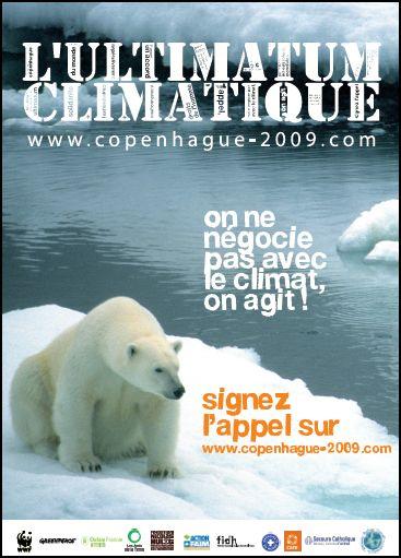 Conférence de Copenhague - L'ultimatum climatique