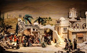 Scène de la nativité. Photo (c) Gellinger