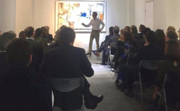 David Baverez. Photo courtoisie (c) Shanghai Accueil - équipe conférences