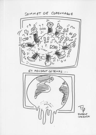 COPENHAGUE, par les dessinateurs de presse