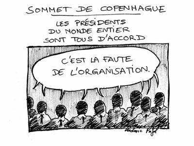 COPENHAGUE, par les dessinateurs de presse