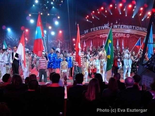 34e FESTIVAL INTERNATIONAL DU CIRQUE DE MONTE-CARLO