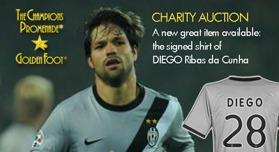 Diego signed shirt for Haiti