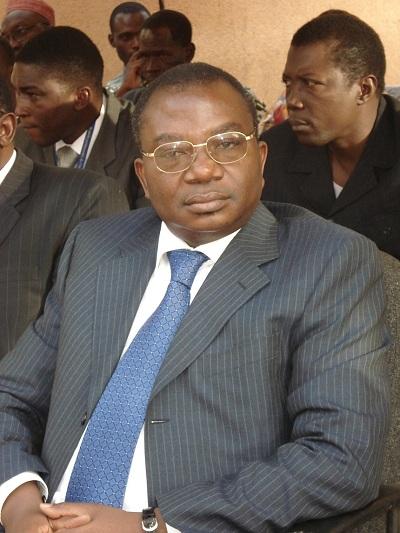 Lucien Marie Noël Bembamba, ministre de l'Economie et des Finances du Burkina Faso - Agence Photos Sama (publiée avec autorisation)
