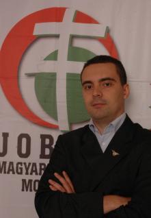 Gabor Vona, leader du parti d'extrême droite hongroise (jobbik.hu)