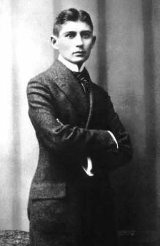 Portrait of Franz Kafka in 1906