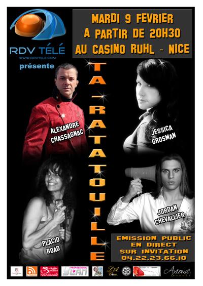 RDV Télé: TA-RATATOUILLE, émission musicale