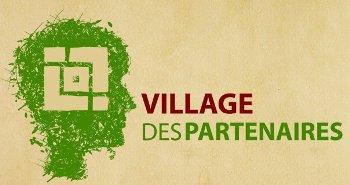 Le village des partenaires des Jeux de la Francophonie pour les Grands Prix KRéA du salon BEDOUK MC&IT
