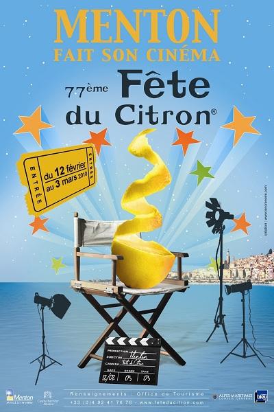 Menton fait son cinéma lors de la Fête du Citron 2010