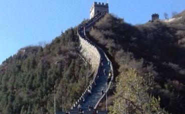 La Muraille de Chine. Photo prise par Sarah Barreiros.