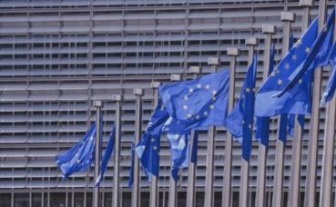 Les drapeaux européens à Bruxelles. Image du domaine public