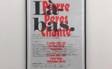 """Exposition """"Là-bas"""" de Saâdane Afif. Photo prise par l'auteur."""
