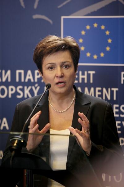 Kristalina  Georgieva, commissaire désignée à l'Aide humanitaire (europa.eu)