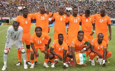 Les Eléphants Côte d'Ivoire,une grosse déception. (c) Photo Sama publiée avec autorisation