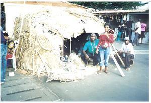 Stand GIC RAFAM pygmées Baka sud Cameroun (photo ETOAA Joseph)