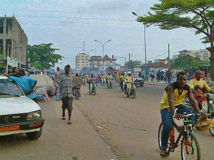 Cotounou, capitale du Bénin (source : wikipédia)