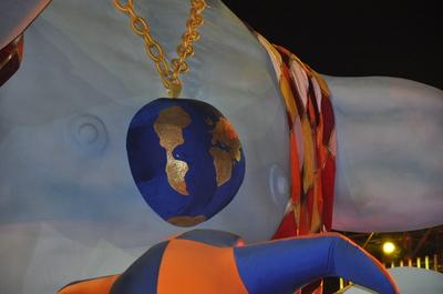 OUVERTURE DU 126° CARNAVAL DE NICE 2010 PAR CHRISTIAN ESTROSI