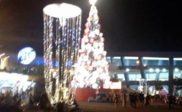Noël à Manille. Photo prise par l'auteur.