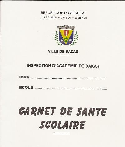 Carnet remis par la mairie