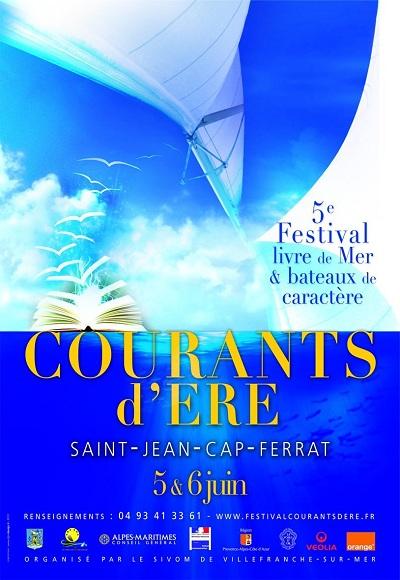 5ème Festival Courants d'Ere, livres de mer et bateaux de caractère