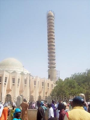 La grande mosquée de Tivaouane