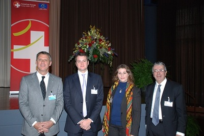 Philippe NARMINO, Robert FILLON, Antonella SAMPO-COUMA, Jean-Laurent RAVERA. Photo (DR)