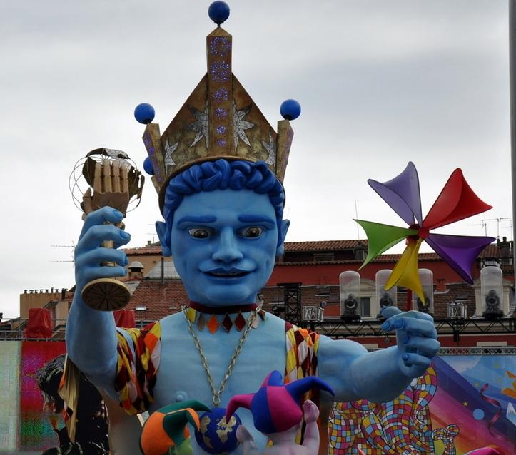 CARNAVAL DE NICE - DERNIER CORSO CARNAVALESQUE