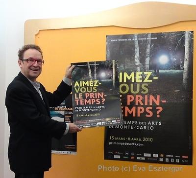 Marc Monnet présente le Festival Off. Photo (c) Eva Esztergar