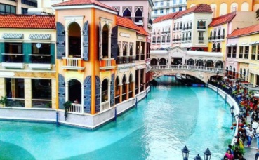 "Le centre commercial ""Venise"". Photo prise par Sarah Barreiros."